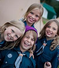 glada scouter tjejer magnus froderberg